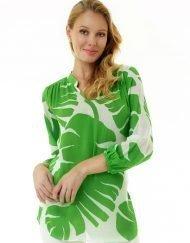 201c08 artisan silky cotton tunic pb green
