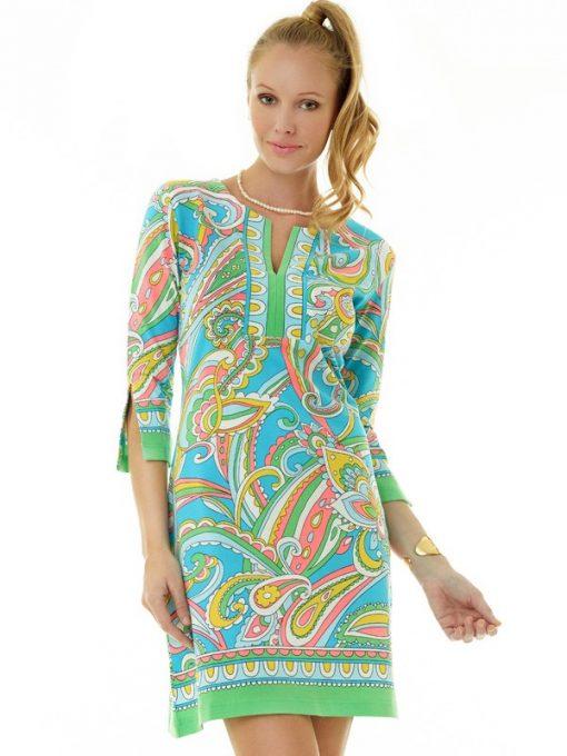 580c17 engineered knit dress mint seafoam