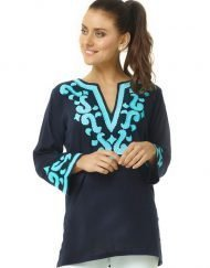 520r18 embellished linen tunic 2
