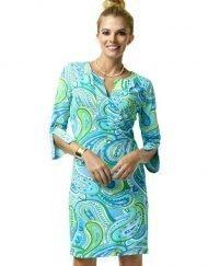 580C63-Nylon-Spandex-Dress-Light-Blue-Lime-99562-2
