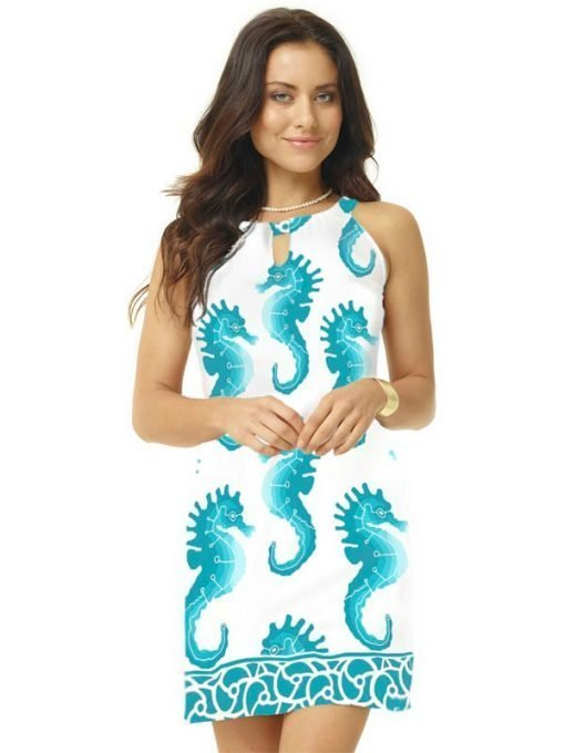 12 - Block Knit Dress 146B63-Jade Ombre 02