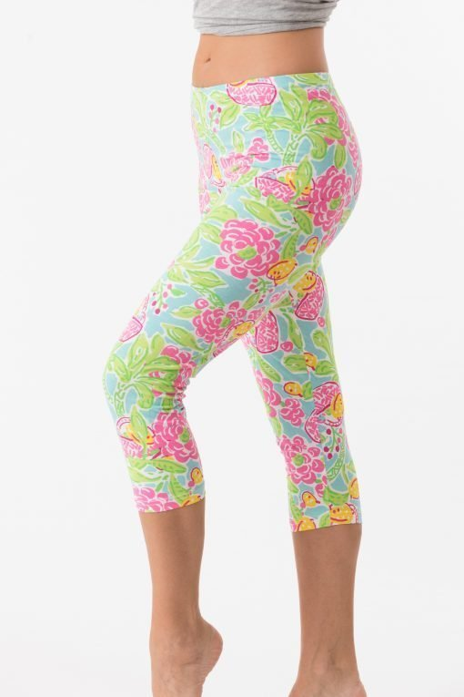 Vintage Knit Capri Style 308D08 Seafoam Pink 02