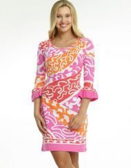 352d44 coastal engineered dress pink melon