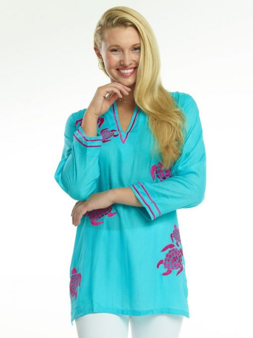 520r68-embroidered-jacquard-silky-cotton-tunic-seafoam-hot-pink