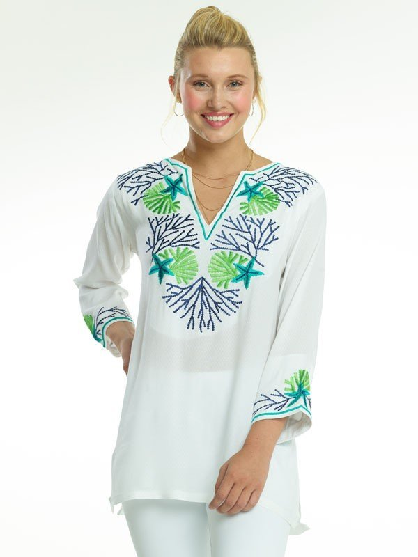520r70-embroidered-jacquard-silky-cotton-tunic-navy-jade-pb-green