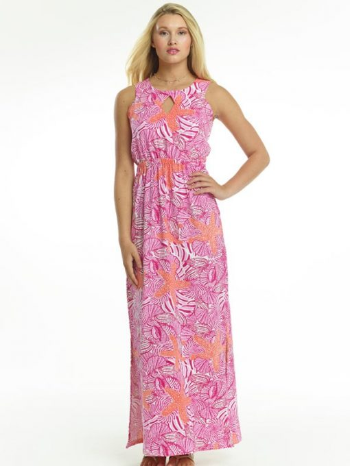 426d54-vintage-cotton-knit-dress-hot-pink-orange