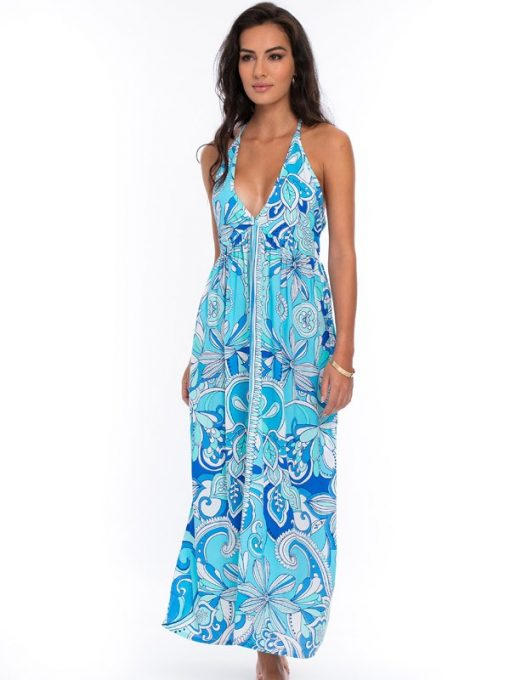 473d91-printed-silky-rayon-dress-royal-seafoam