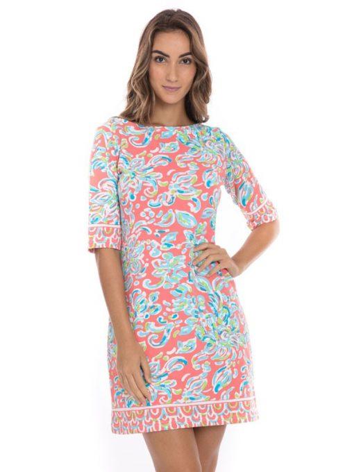 453E02-french-terry-reversible-dress-flamingo-seafoam