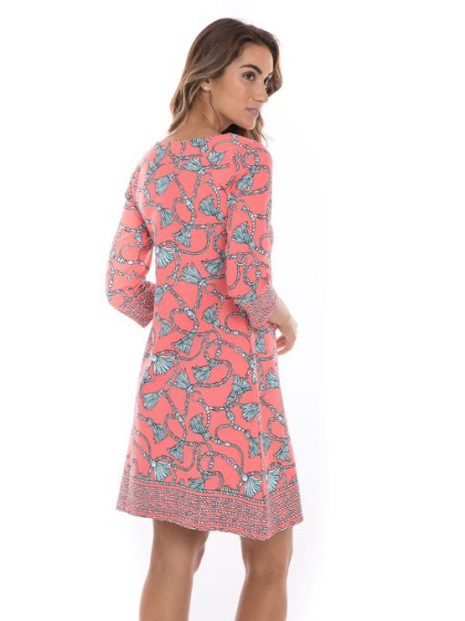 455e01-french-terry-boat-neck-dress-flamingo-seafoam-back