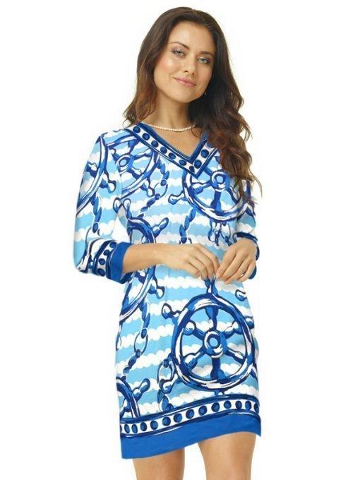 55 - 220D46 Blue Tonal