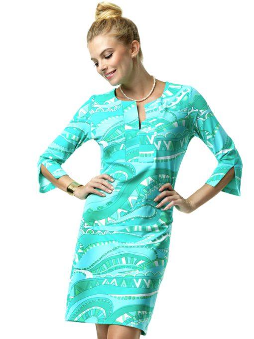 580C35-Nylon-Spandex-Dress-Turq-Mint-99589