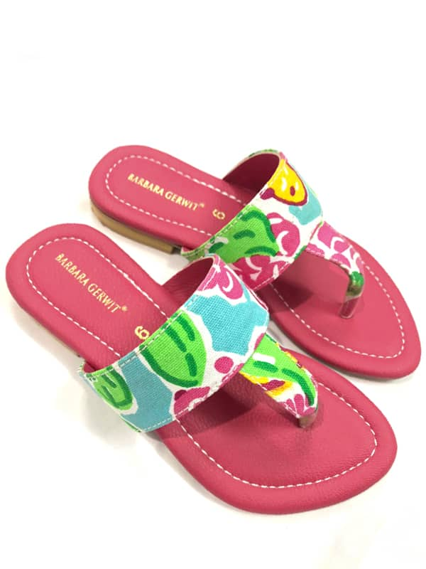 Sandals in Gardia Print Style 911D08 SP